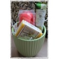 Flower Pot style Gift Baskets made Especially for Her
