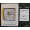 Nature's Stains & Scribbles Greeting Cards - SS1
